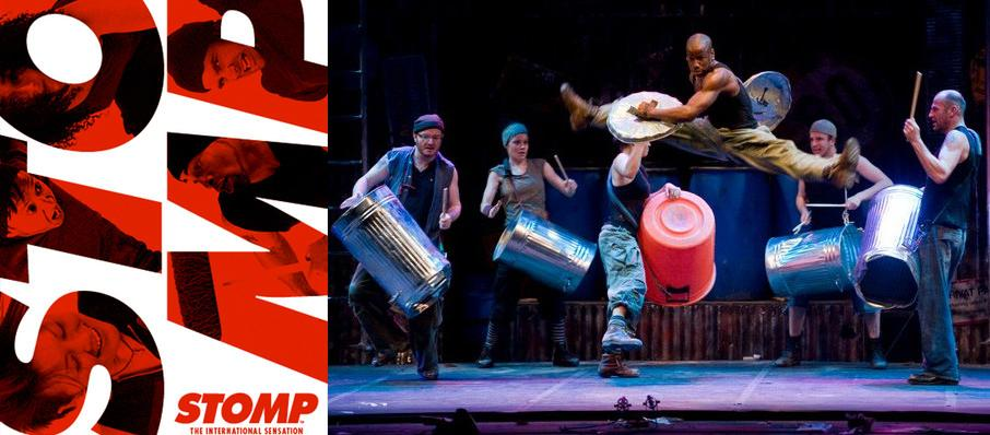 Stomp at GBPAC Great Hall