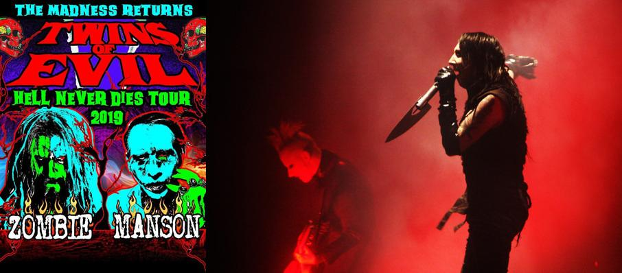 Rob Zombie and Marilyn Manson at US Cellular Center