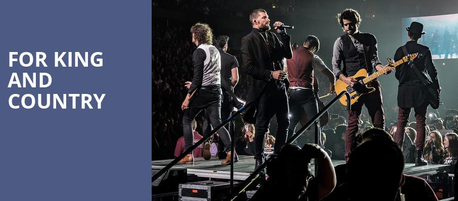For King And Country, US Cellular Center, Cedar Falls